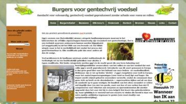 Website: Burgerinitiatief Nijmegen Gentechvrij