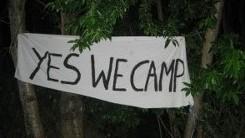 Klimaatactiekamp Leuven: Parkveld is bezet!