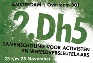 Workshop at 2.Dh5 on GMO resistance in the Netherlands