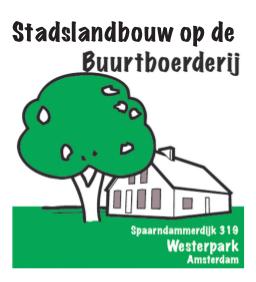 City farming on neigbourhood farm in Amsterdam