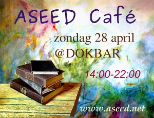 ASEED Café – zondag 28 april