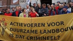 Patattenproces: Voorwaardelijke celstraffen voor het rooien van illegale GGO aardappelen