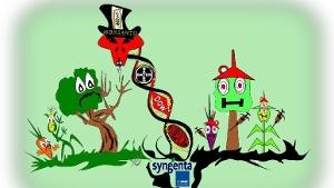 GM-octrooien in handen van BAYER en BASF