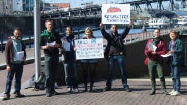 Solidariteitsacties rond 17 april, de internationale dag voor boerenstrijd