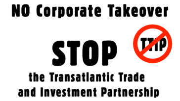 Internationale actiedag tegen TTIP