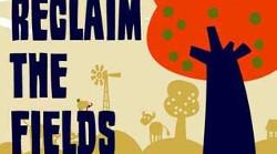 Europese bijeenkomst van 'Reclaim the Fields' in Engeland