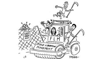 Field Liberation Movement activists' request to ILVO