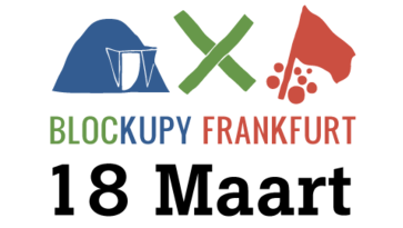 Blockupy March 18: solidarity with Greece and against TTIP