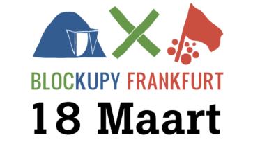 Blockupy 18 maart: solidariteit met Griekenland en tegen TTIP