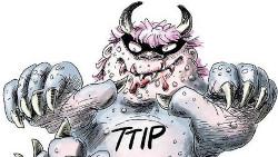 Brochure: TTIP, een onverteerbaar monsterverdrag