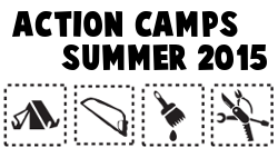 Action Camps and other interesting events in the summer of 2015