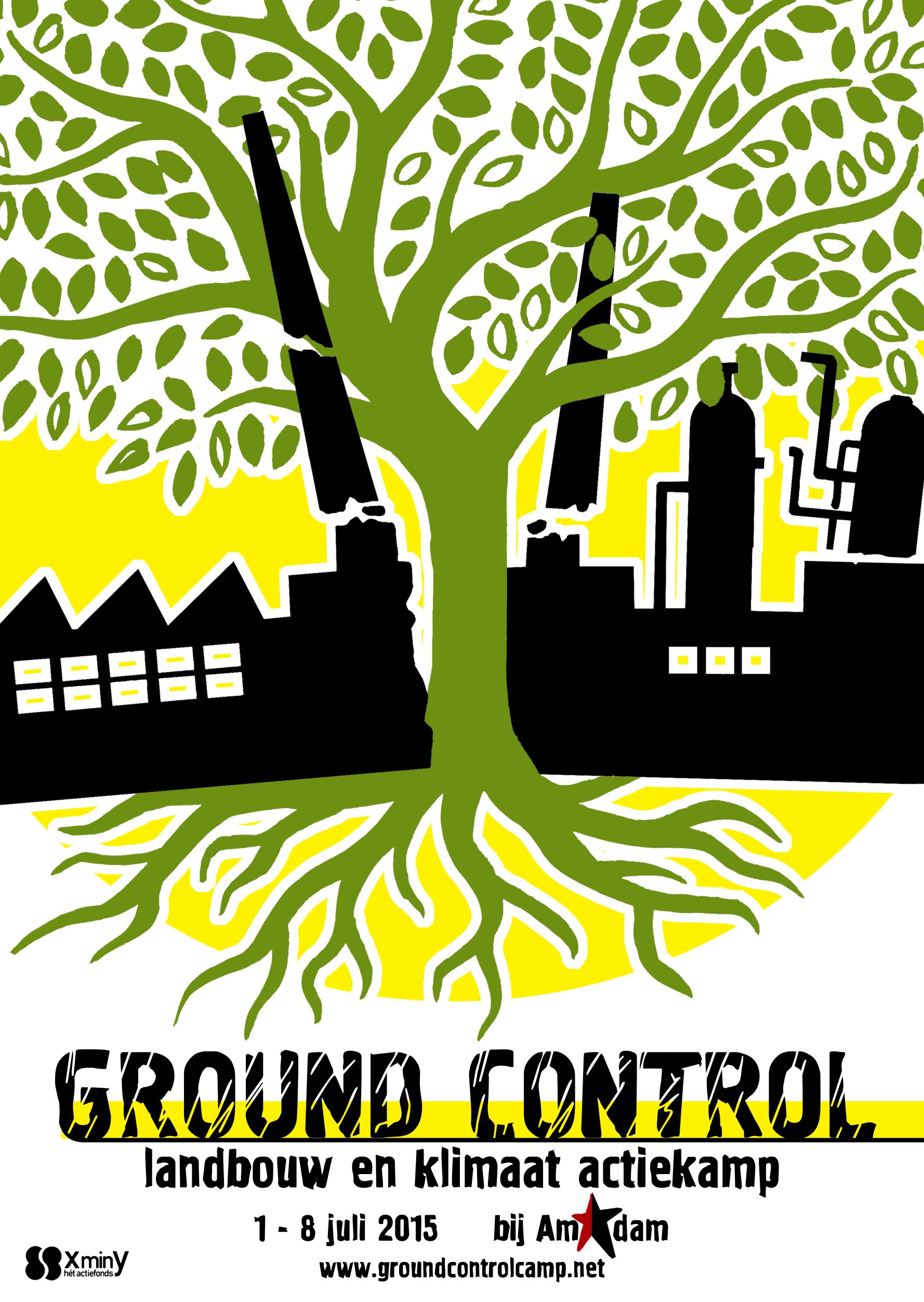 Ground COntrol agriculture and climate action camp Amsterdam