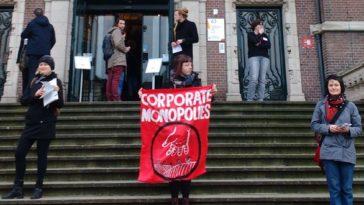 Actie tegen 'filantropische' Corporate Funding in Amsterdam