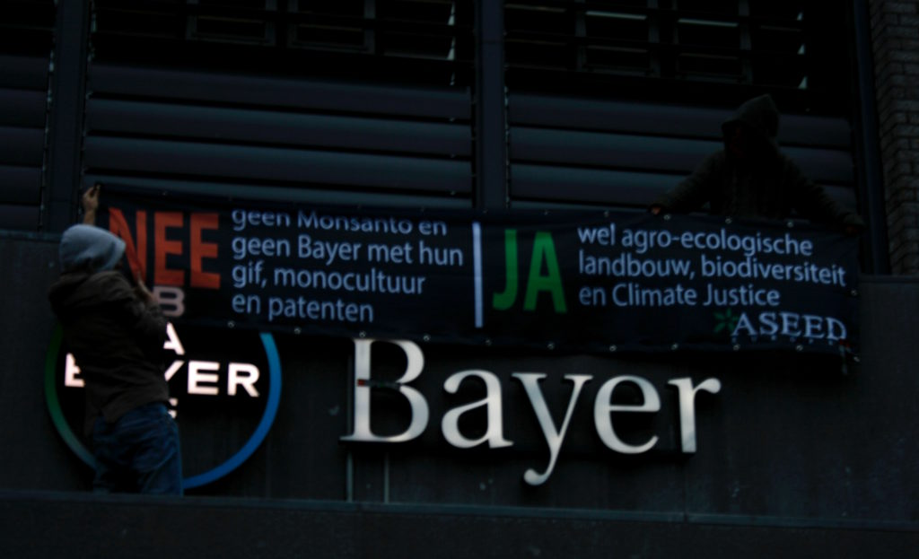 ASEED Bayer/Monsanto Action