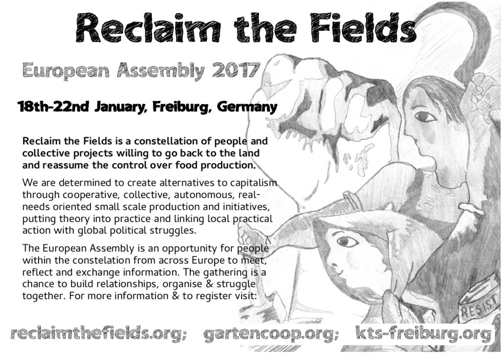 Relcaim the Feilds Assembly