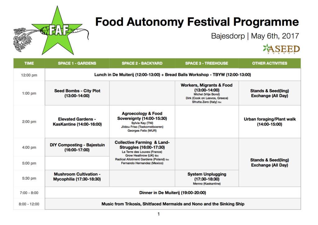 FAF-Programme