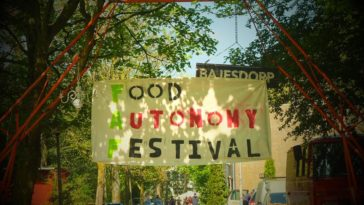 A Note from the Food Autonomy Festival (FAF)