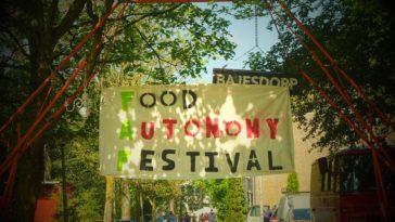 Een bericht van het Food Autonomy Festival (FAF)