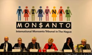 Monsanto Tribunal judges