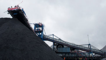 Code Rood bij de Amsterdamse kolenoverslag