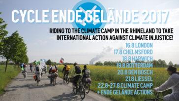 Cycle Ende Gelände 2017