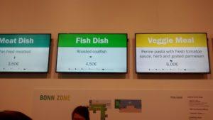 Veggie meal COP23