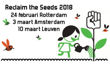 Reclaim the Seeds 2018: from Rotterdam via Amsterdam to Leuven