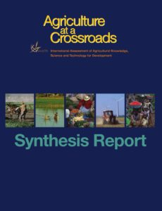 Agriculture at crossraods report