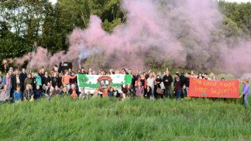 Solidarity with Hambach Forest! Stop Climate change!