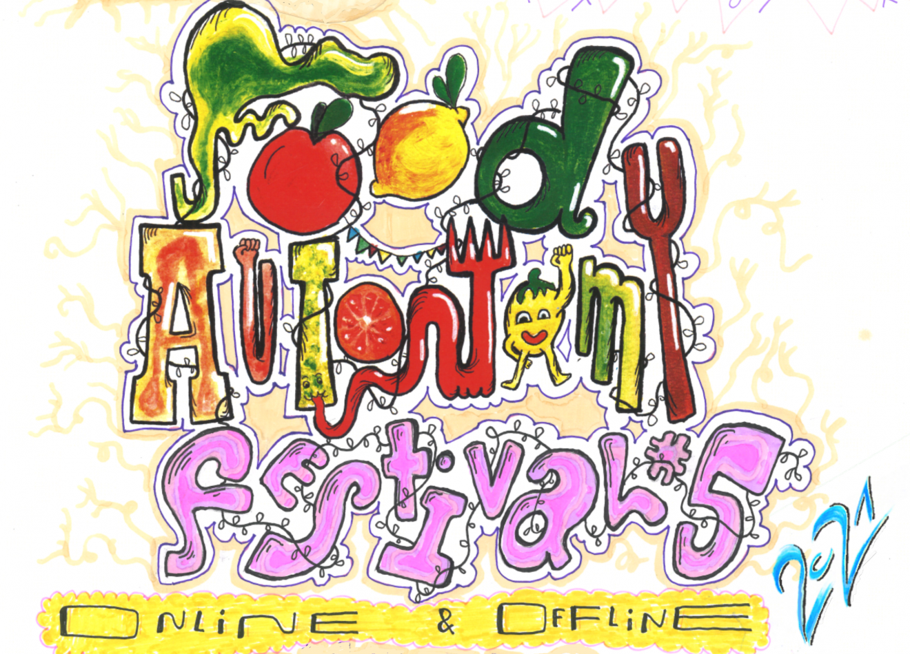 Food Autonomy Festival number 5 - online and offline 2021