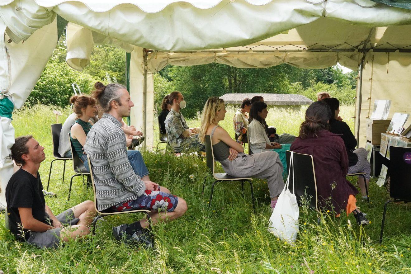 People enjoying a workshop at the FAF in Utrecht
